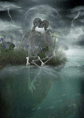 Image result for images of skeleton lovers